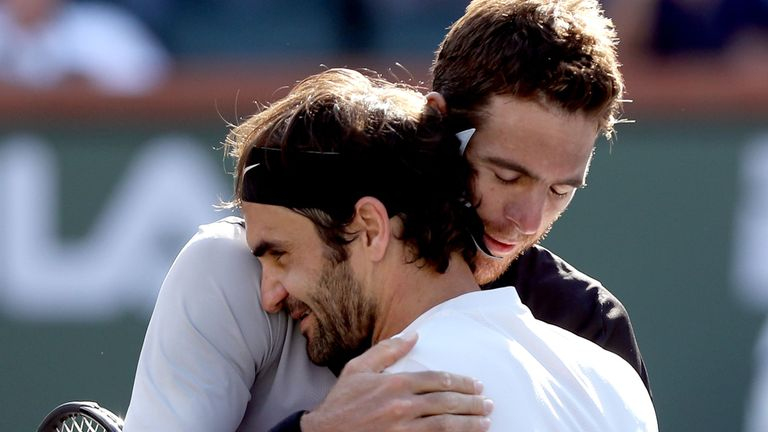 Del Potro e Federer