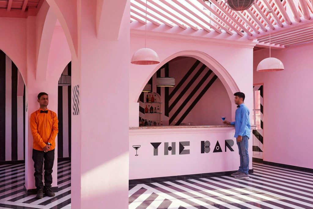 locali ispirati wes anderson The Pink Zebra