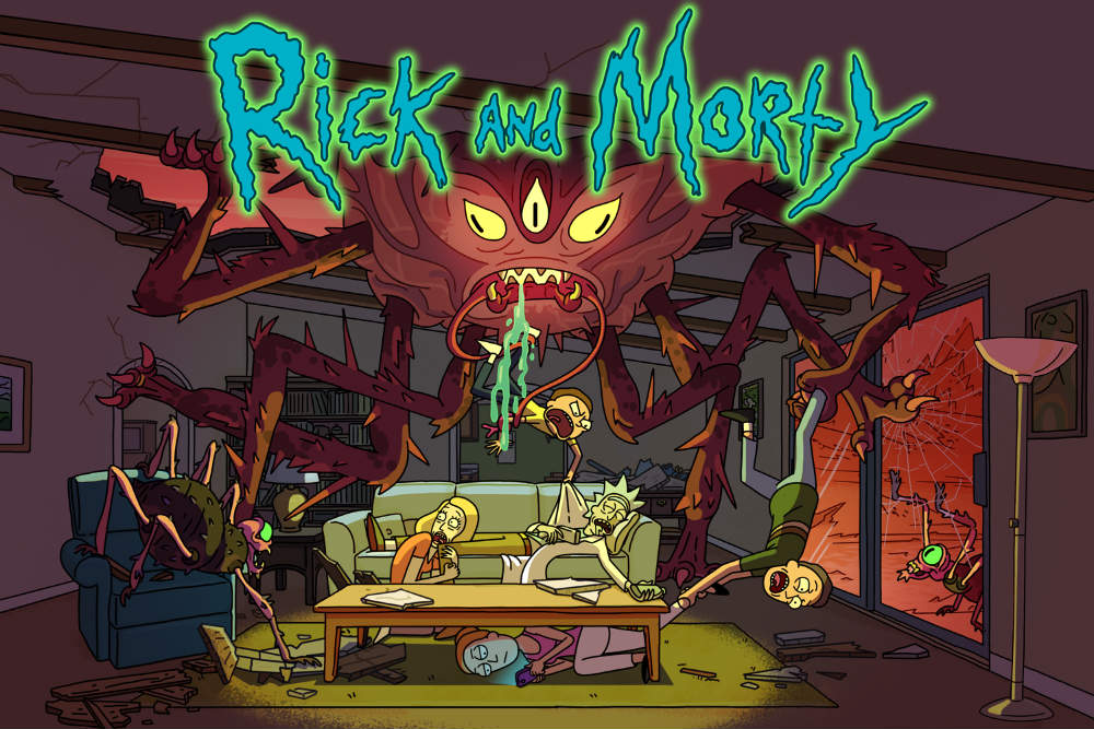 Rick-and-Morty-home-video