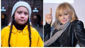 Greta Thunberg e Rita Pavone