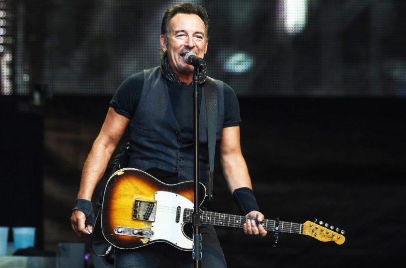 Bruce Springsteen, foto live
