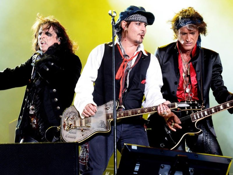 Hollywood Vampires, foto live