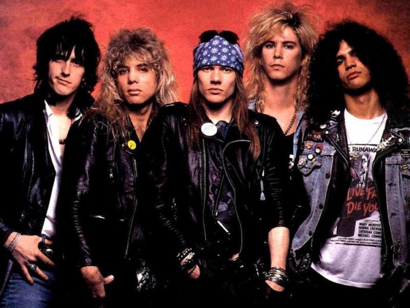 Guns N' Roses, foto promozionale