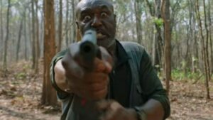Delroy Lindo in una scena di Da 5 Bloods il film Netflix Spike Lee