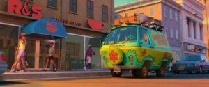 Il Mistery Wagon in una scena di Scooby! recensione del film