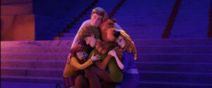 una scena di Scooby! recensione del film
