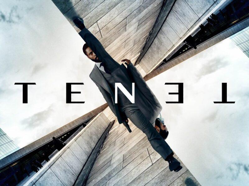 Il poster di Tenet, nuovo film di Christopher Nolan