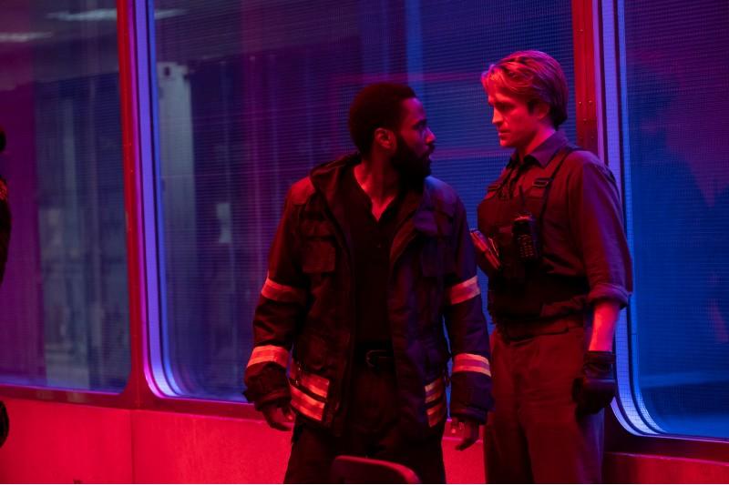Una scena di Tenet, nuovo film di Christopher Nolan