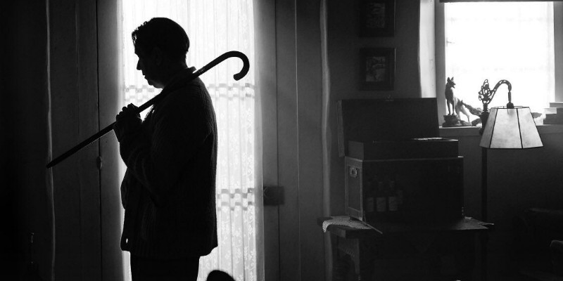 Gary Oldman in una scena del film