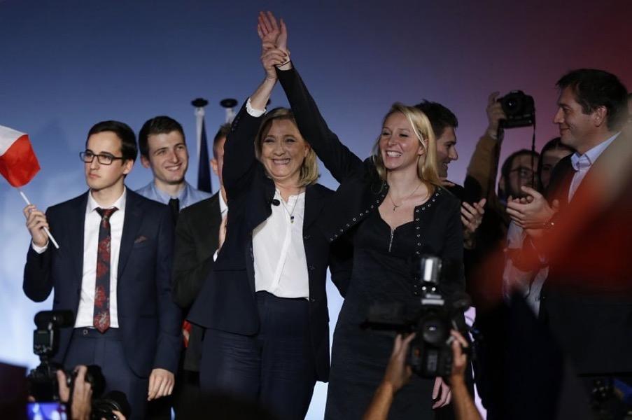 Francia, le vincitrici delle elezioni regionali: Marine e Marion Le Pen