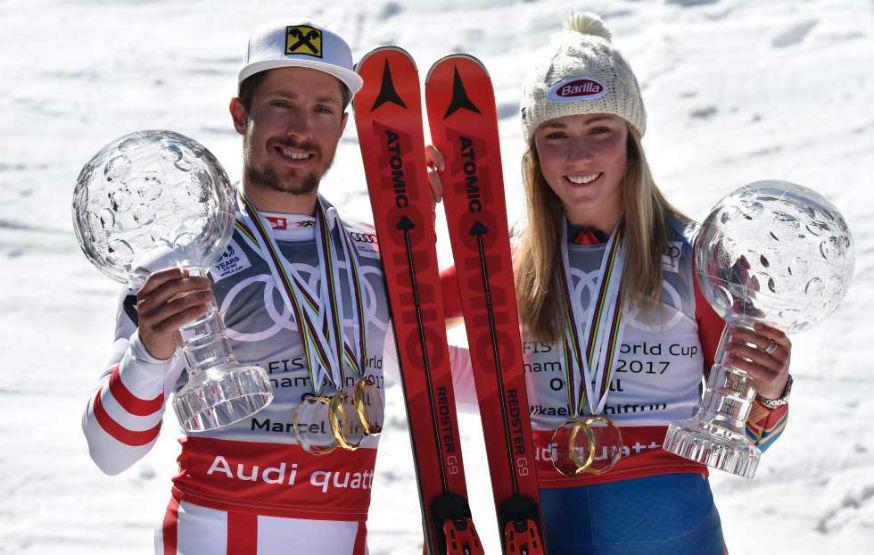 coppa del mondo di sci alpino 2017- numeri e vincitori