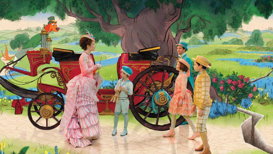Risultati immagini per immagini del film il ritorno di mary poppins