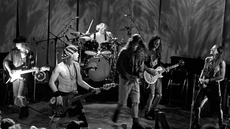 Temple of the dog, foto live